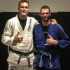 With Roger Gracie - London, England