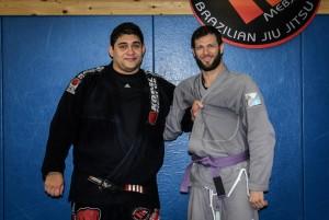 Alex's Purple Belt Promotion