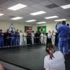 BJJ Students Lining Up