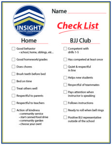 Youth Leadership Checklist